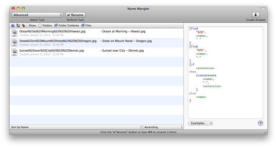 How-to: Clean up filenames using Name Mangler · Tales of a