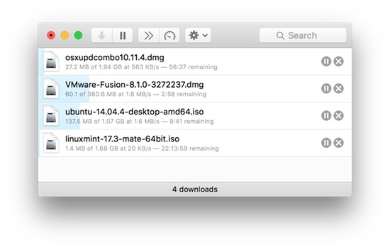 Leech: A simple-to-use yet powerful download manager
