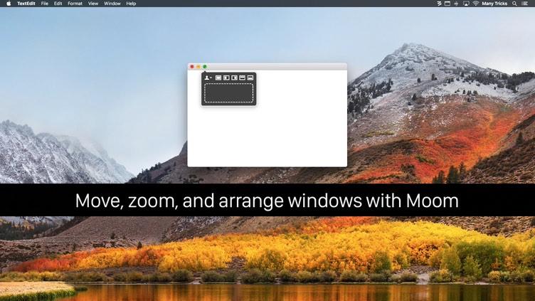 Moom Mac 破解版 实用的窗口大小增强控制工具-麦氪搜(iMacso.com)